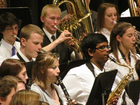 Huntley students participate in county Honor's Band