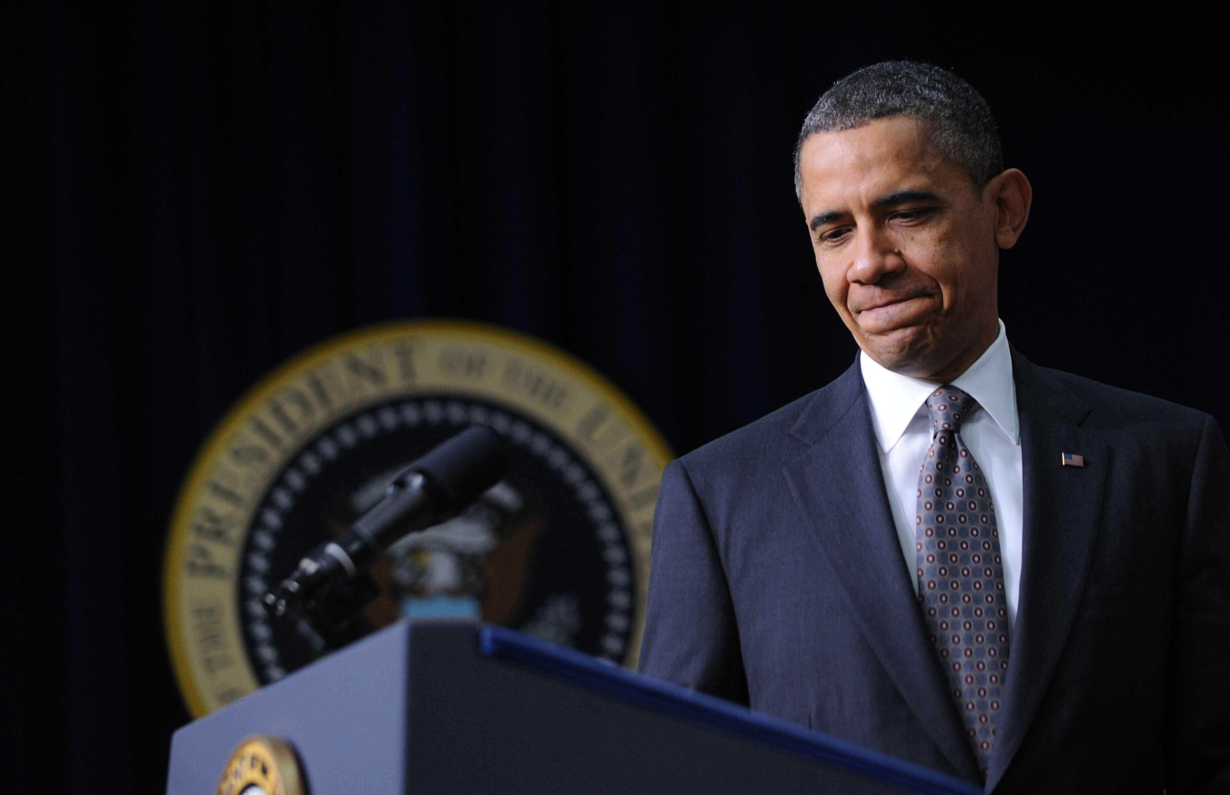 Obama speaks at White House about bipartisan compromise
