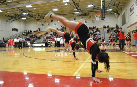 Cheerleading and poms tryouts held, in search of the perfect team