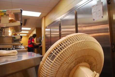Lack of air conditioning at HHS negatively impacts the cafeteria