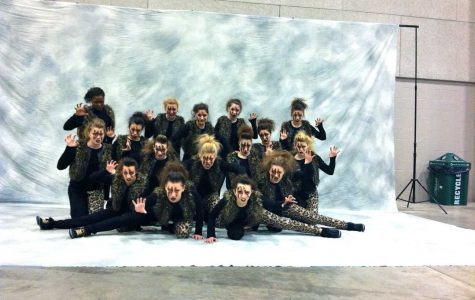 Huntley poms team place sixth in state competition