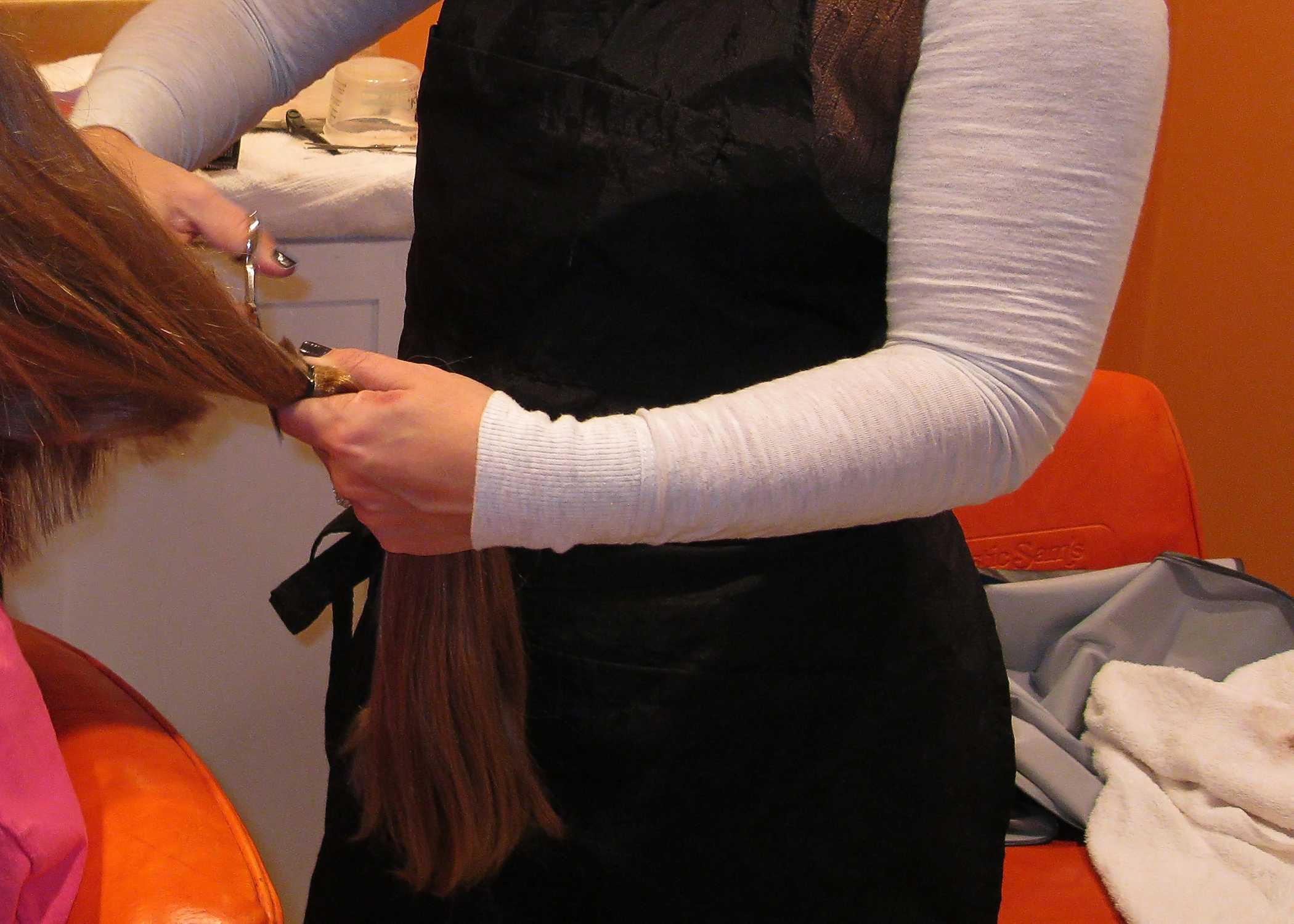 Hair donation through organizations like Locks of Love is one of many ways to serve your community (H. Baldacci).