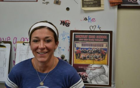 Huntley hires new volleyball coach