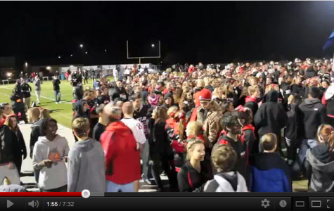[Video] Raiders storm the field for Homecoming win