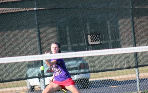 Girls tennis tames nature and DC