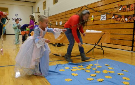 Costumes, Games, and Music at the annual Halloween Fun Night