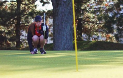 Girls golf finishes historic season at sectionals