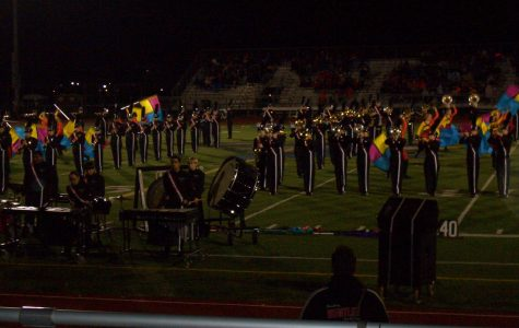 Marching band finishes season strong at Lincoln Way East High School