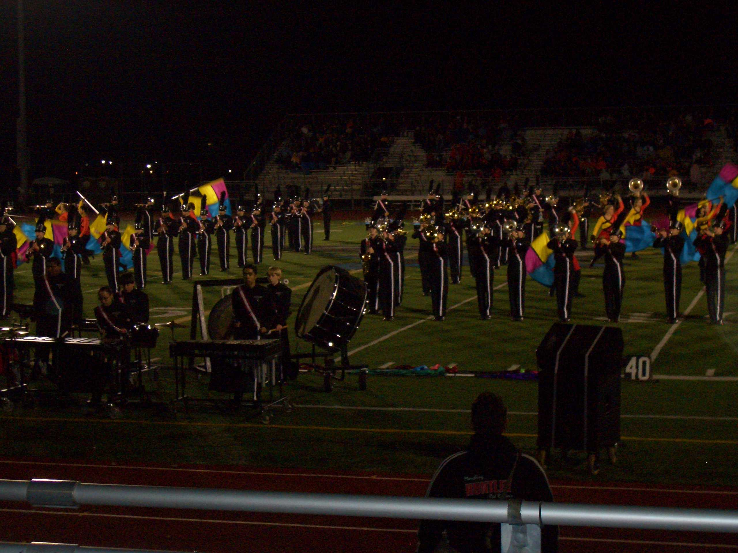 Marching Band Finishes Season Strong At Lincoln Way East