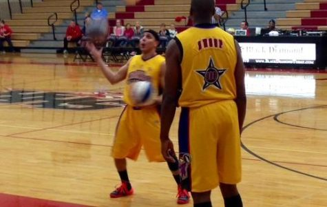 Shooting Stars slam dunk against the Harlem Wizards