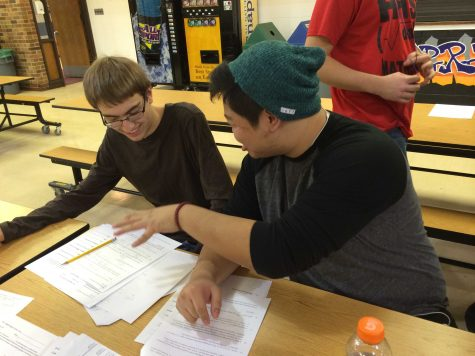 Math Team takes first in FVC competition