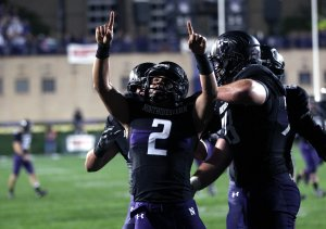 Kain Colter is the leader of the Northwestern football team's unionization movement.  (MCT Campus)