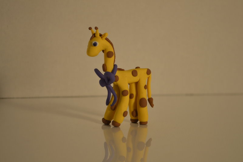 Clay+project%3A+How+to+create+a+giraffe