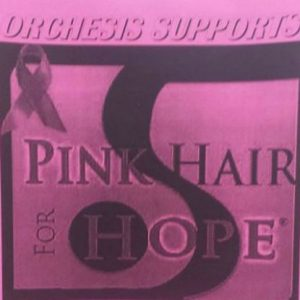 Pink hair don't care: Orchesis Breast Cancer Awareness fundraiser
