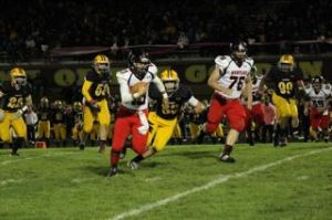 """""""Thanks Jacobs"""": Raiders defeat Golden Eagles 37-14"""