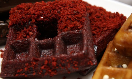 Red Velvet is an ingredient in the Red Velvet French Toast at Brunch Cafe (Courtesy of mctcampus.com)