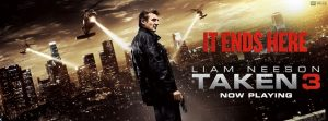 Taken 3 now in theaters (Courtesy of facebook.com/TakenMovies/)