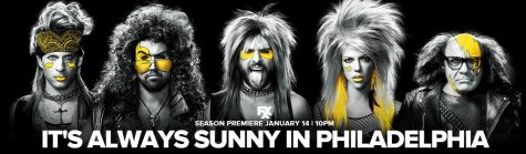 The new season poster for It's Always Sunny In Philadelphia (Courtesy of fxnetworks.com/shows/its-always-sunny-in-philadelphia).
