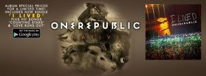 "Poster for the new One Republic album called ""Native""(Courtesy of .facebook.com/OneRepublic)"