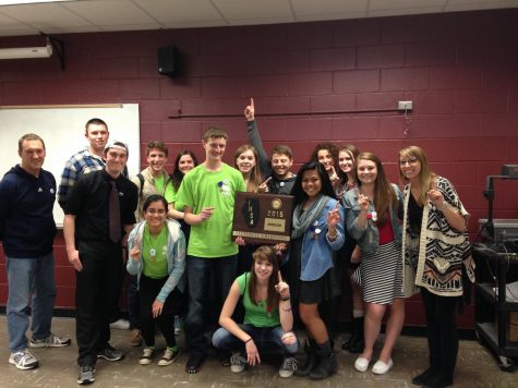Huntley journalism wins the sectional title