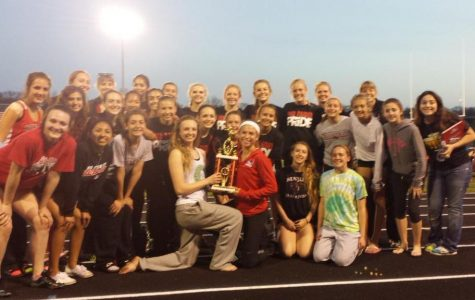 Girls track takes first place at the Ottawa Fricke Invitational