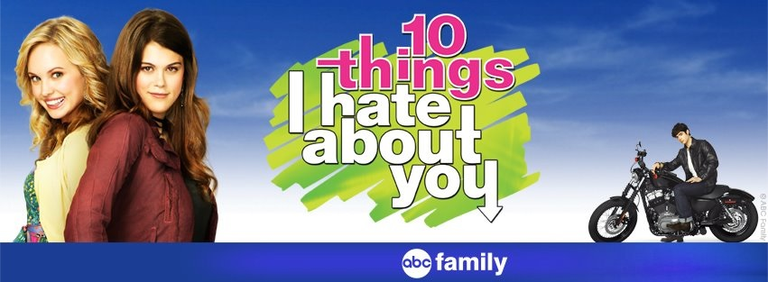 """Ten Things I Hate Baout You"" gets a remake from the original movie to a TV show (Courtesy of www.facebook.com/10Things)"