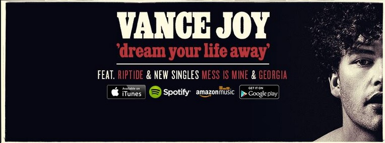 Join Vance Joy as you 'Dream Your Life Away' (Courtesy of www.facebook.com/Vancejoy).