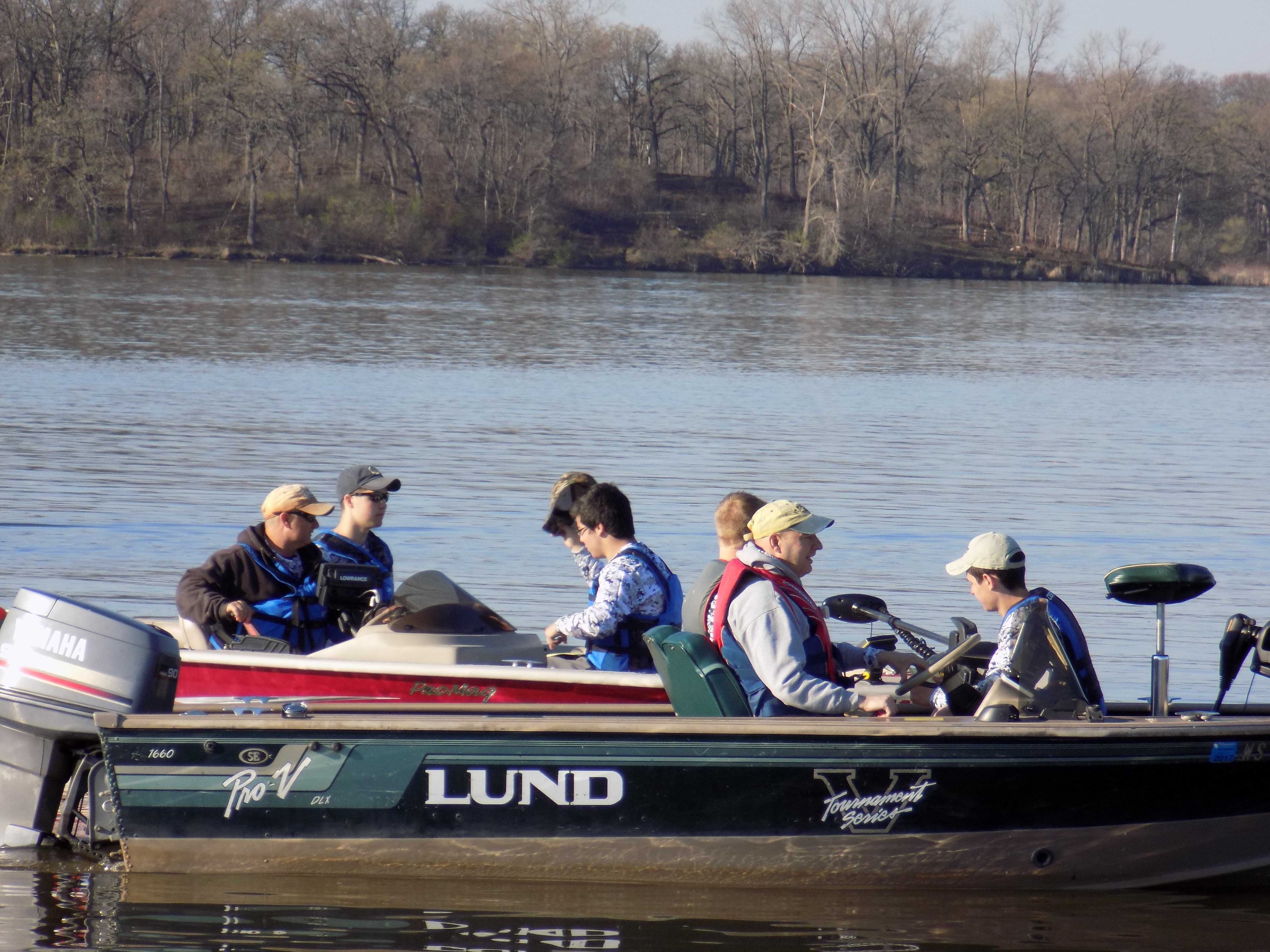 Fishing team places fifth sectionals