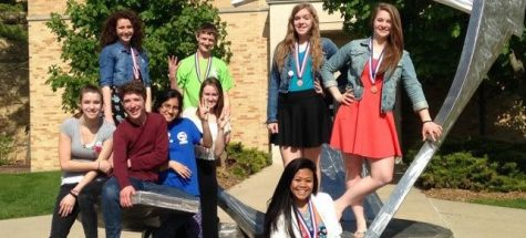 Journalism team places fourth at state