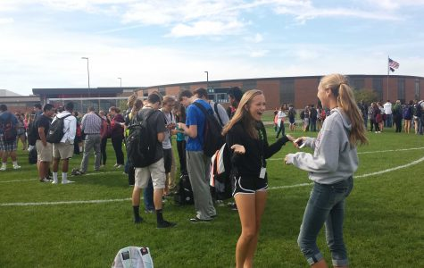 Scheduled fire drill at Huntley High School goes as planned