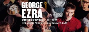 """Despite George Ezra's bad day, his fans are not disappointed with his new music video """" Blame it on Me"""" on his new album """"Wanted on Voyage"""" (Courtesy of www.facebook.com/georgeezramusic/?fref=ts)."""