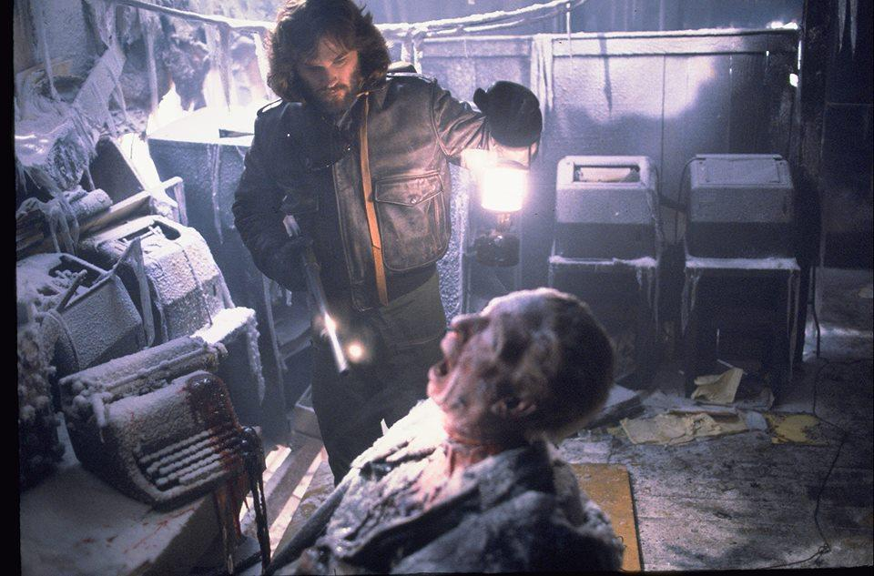 Paranoia is easily shown in the Cult Classic 'The Thing' (Courtesy of  www.facebook.com/thethingmovie/photos).