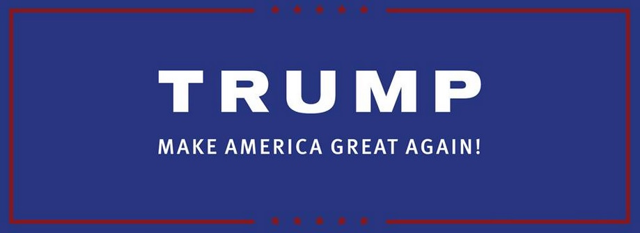 Donald Trump plans to 'Make America Great Again' in his 2016 Presidential campaign motto (Courtesy of www.facebook.com/DonaldTrump/photos).