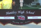 HHS Marching band performs during the annual HHS homecoming parade (courtesy to HHS TV Productions.)
