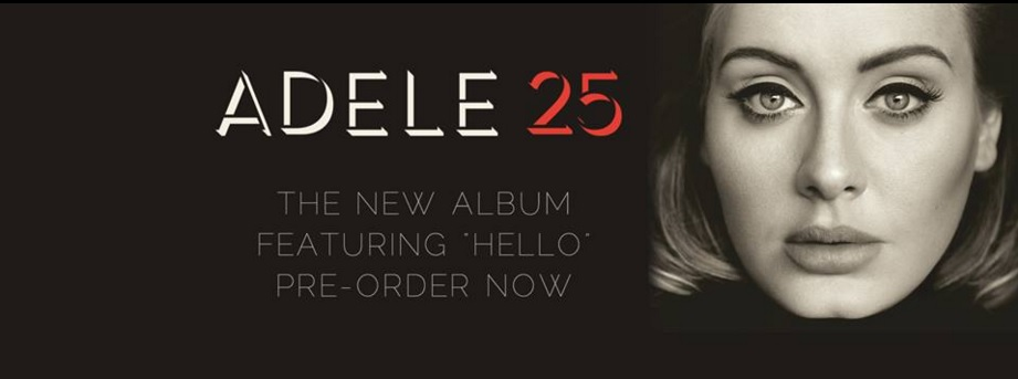 """Hello"" gives Adele more success on her new album ""25"" (Courtesy of www.facebook.com/adele/photos/)."