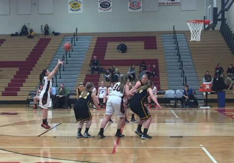 Girls basketball stays undefeated in conference