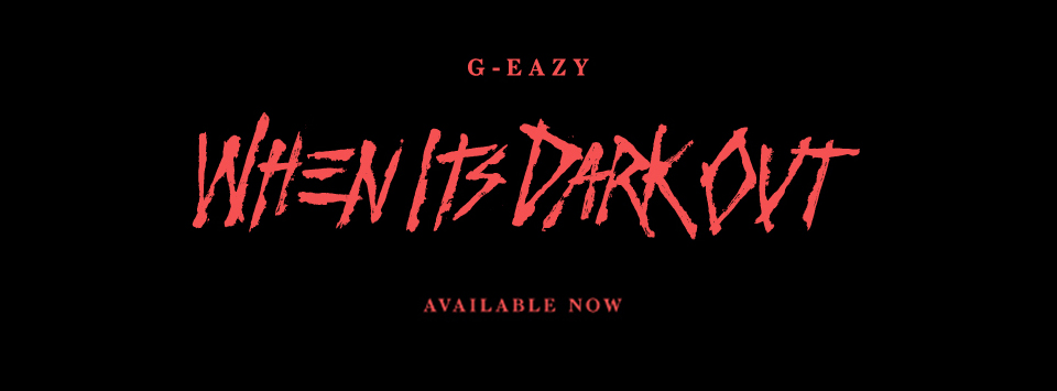 "G-Eazy takes a step in the right direction with his new album ""When It's Dark Out"" (Courtesy of www.facebook.com/G.Eazy/photos)."