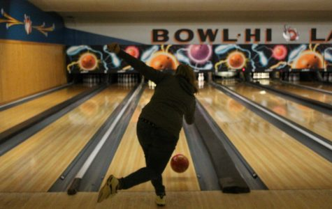 Girls and Boys Bowling Practice