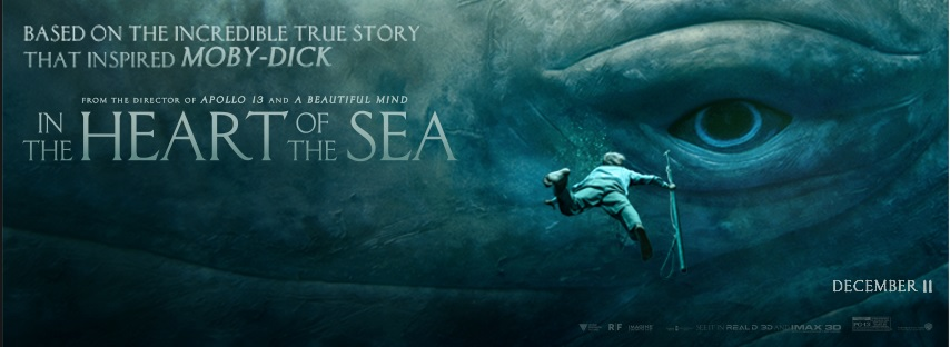 """In the Heart of the Sea"" captures attention by audiences, however, not in the box-office (Courtesy of www.facebook.com/IntheHeartoftheSeaMovie/)."