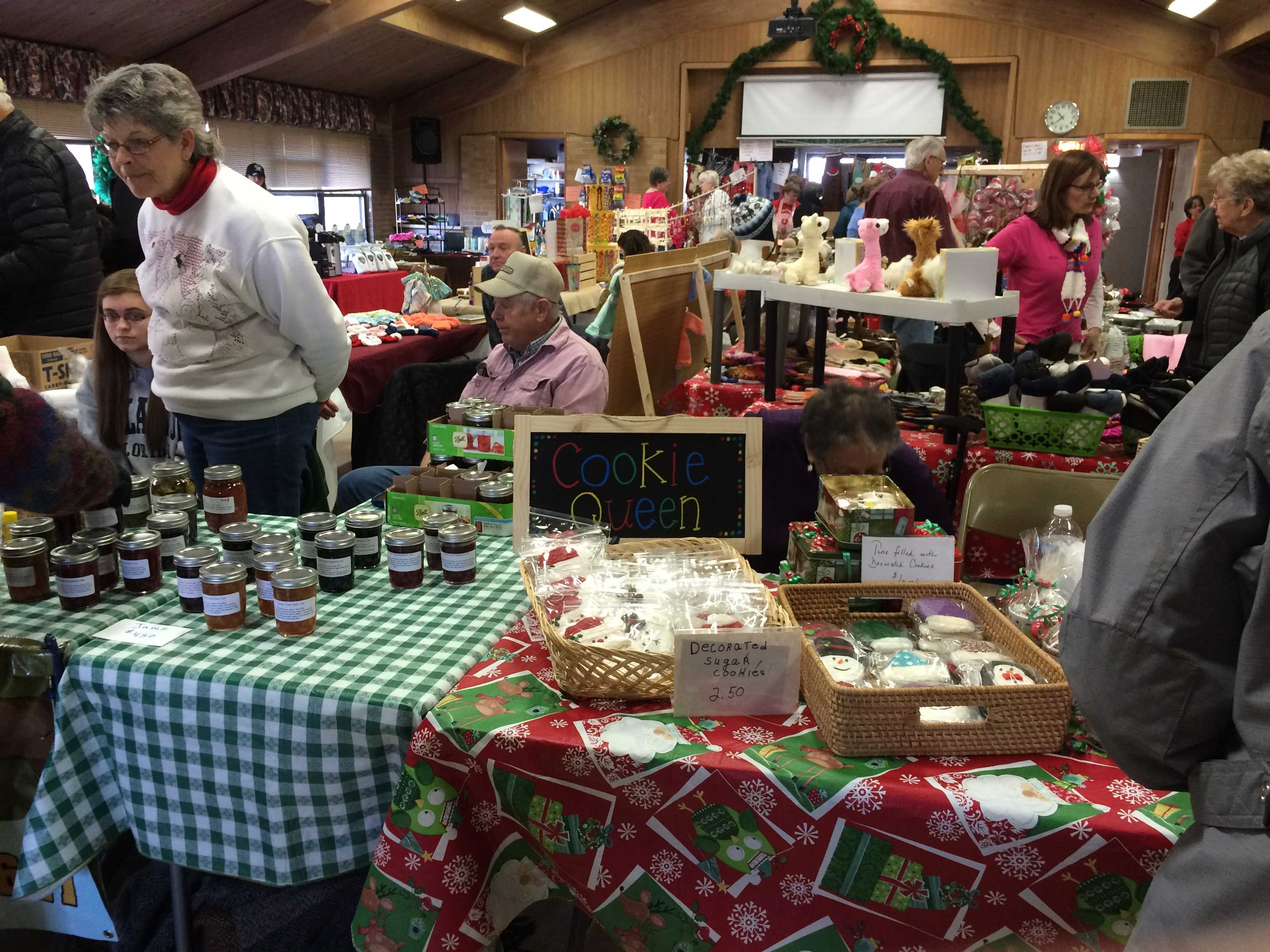 Reindeer and crafts galore in Huntley