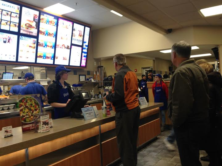 HHS Bands participate in first Culver's Fundraiser