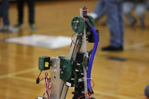 One of the many robot arms that was used for the SCIO HHS Invitational (D. Martin).