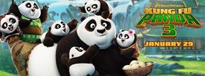 """""""Kung Fu Panda 3"""" includes a diverse cast and beautiful scenery (Courtesy of www.facebook.com/KungFuPanda/photos/)."""
