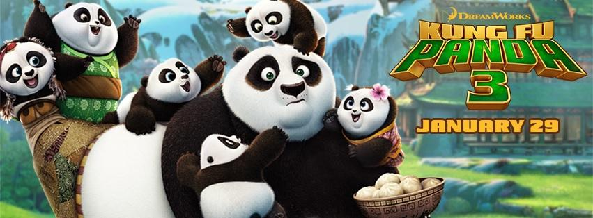 """Kung Fu Panda 3"" includes a diverse cast and beautiful scenery (Courtesy of www.facebook.com/KungFuPanda/photos/)."