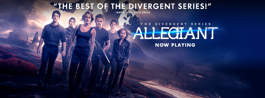 "Tris and her friends must fight to save Chicago in ""The Divergent Series: Allegiant"" (Courtesy of www.facebook.com/TheDivergentSeries/?fref=ts)."