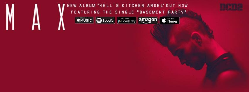 "Max releases ""Hell's Kitchen Angel"" (Courtesy of www.facebook.com/MaxSchneiderOfficial/photos)."