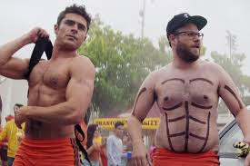 Seth Rogan and Zac Efron in Neighbors 2 (Photo courtesy of Universal Pictures)