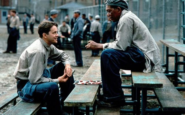 """""""The Shawshank Redemption"""" is one of the greatest films of its time (Courtesy of https://www.facebook.com/ShawshankRedemptionFilm/)."""