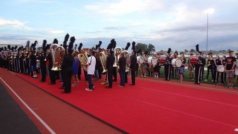 Future marching Raiders take to the field