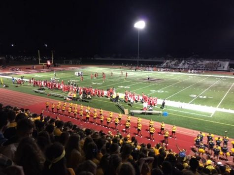Huntley High School defeated Dundee Crown Friday night with a score of 57-14.